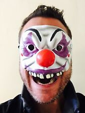 Scary Halloween Clown IT Face Latex Mask Jester Fancy Dress Costume Adult Penny