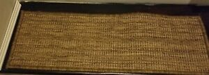 "14 STEP 8,5"" x 26,6""  Sisal Colection Carpet Stair Treads Gold"