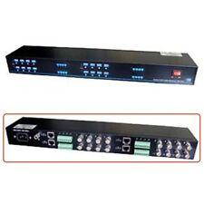 16 Channel Active Video Balun BNC Coax Receiver Transmitter Extender CCTV Camera