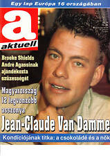 JEAN CLAUDE VAN DAMME, GINGER ROGERS, STACY KEACH   Hungarian magazine