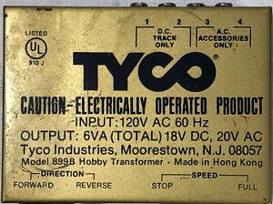 Tyco Model 899B Hobby Transformer