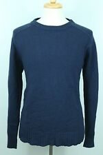 The North Face Men's Sweater XL Navy Blue Knit Top Soft Warm Cotton Wool Blend