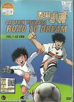 CAPTAIN TSUBASA : ROAD TO DREAM - COMPLETE ANIME TV SERIES DVD BOX (1-52 EPS)