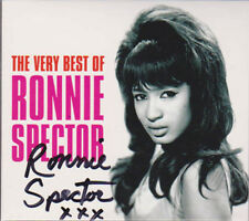 RONNIE SPECTOR SIGNED THE VERY BEST OF RONNIE SPECTOR CD WITH BONUS