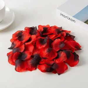 Rose Petals Artificial Flower Wedding Party Decoration Romantic Valentine Gifts