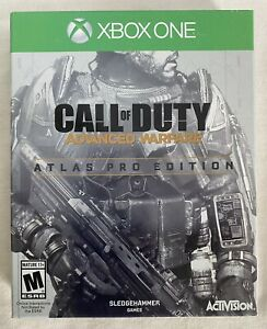 Call of Duty Advanced Warfare Atlas Pro Edition Steelbook Xbox One Complete CIB