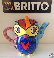Britto - Teiera Gufo Britto - Owl Teapot Britto - Goebel Artis Orbis 334154