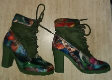 LADIES DESIGUAL ANKLE BOOTS SIZE EU38 UK 5 NEW WITHOUT BOX