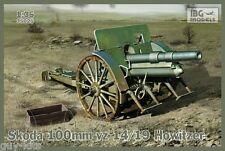 Obusier de montagne SKODA vz 14/19 100 mm, WW2  - KIT IBG Models 1/35 n° 35025
