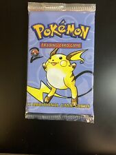Pokemon Cards -  Base set 2 -2nd edition - Booster Pack - Sealed & Unweighed