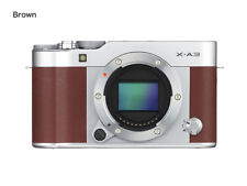 Fujifilm X-A3 Brown & Silver Body Only CSC Mirrorless Fuji Compact System Camera