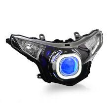 KT LED Angel Eye HID Projector Headlight Assembly for Honda CBR250R 2011-2015
