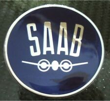 "2.5"" SAAB Vintage Hood or Trunk Emblem sonett 96 93 9-3 95 9-5 9-2X"