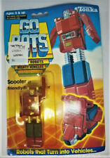 New listing Vintage 1985 Tonka GoBots Scooter on sealed card