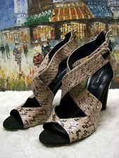 DEREK LAM Falyn Snake Sandal - Size 10B - $795