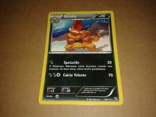CARTA POKEMON SCRAFTY NERO E BIANCO 69/114 RARA MINT