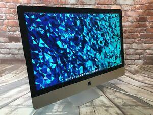 """Apple iMac 27-inch (2012) Intel-i7 3.4Ghz + """"32GB"""" + 750GB FLASH SSD (MD096LL/A)"""