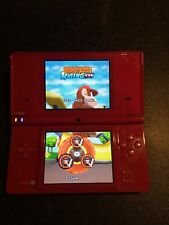 Nintendo DSi Red Handheld System With Diddy Kong Racing Ds