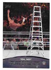 2015 Topps WWE Crowd Chants Oh No #5 Damien Sandow betrays Cody Rhodes