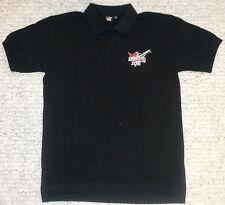 Smirnoff Ice Polo Shirt schwarz Größe L kurzarm 60% Cotton 40% Polyester