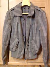 Quaint!!! Grey Checkered Jacket Size 12