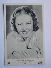 ELAH Warner Bros. JOSEPHINE HUTCHINSON cinema vecchia cartolina old post card