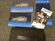 2012 Honda Odyssey Minivan Owner Manual User Guide LX EX EX-L Touring Elite 3.5L