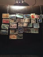 Lot Of Used Canada Stamps Estate Find