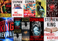 Stephen King 11 AUDIOBOOKS Collection 2013-2018 (MP3)📧⚡ Email Delivery(10s)⚡📧