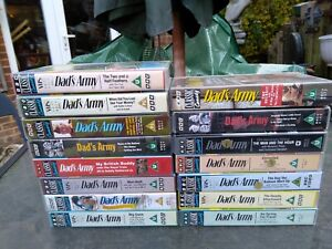 Dad's Army VHS Videos Pre owned good condition 15 in total  no longer required
