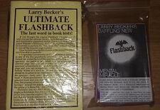 Ultimate Flashback & Flashback Superb Book Tests! Becker & Earle! Pro Mentalism!