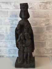 Ancienne statue religieuse bois XIXème union, mariage