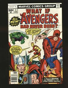 What If? # 3 - The Avengers Had Never Been NM- Cond.
