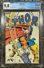 Thor #337 - CGC 9.8 White Pages - 1st Appearance of Beta Ray Bill - Marvel