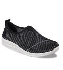 WOMEN'S Skechers® BOBS Phresher - Home Stretch Size 8.5 Black Silver