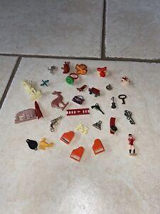 Vtg Gumball Charm Cracker Jack Lot Vending machine toy prizes premiums