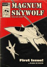 Magnum Skywolf #1 - Retro Floppy Edition comic book *NEW* Signed Upon Request