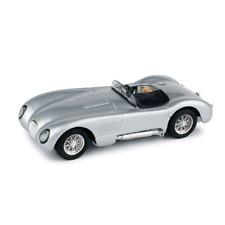 JAGUAR C TYPE STRADALE 1953 GRIGIO 1:43 Brumm Auto Stradali Die Cast Modellino