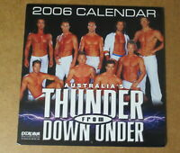 Thunder from Down Under Calendar Sexy Muscle Hunks Beekcake Male Strippers 2006