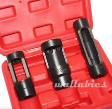 New 3pc Diesel Oxygen Sensor 22mm/28mm Injector Socket Set