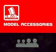 Brengun Models 1/144 F-18C/D HORNET WHEELS Resin Set