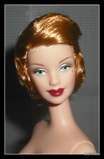 NUDE BARBIE MACKIE DAY IN THE SUN SHORT STRAWBERRY BLONDE BLUE EYE DOLL FOR OOAK