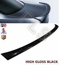 BMW 3 SERIES E90 05-13 M PERFORMANCE GLOSS BLACK BOOT SPOILER TRUNK 4D PLASTIC