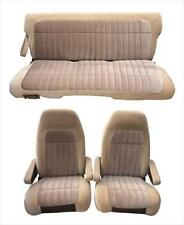 Acme U402S-2309 Medium Blue Vinyl Front Bucket and Rear Bench Seat Upholstery