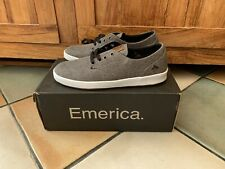 New Emerica  Canvas Trainers The Romeo Size 6 Grey / Brown