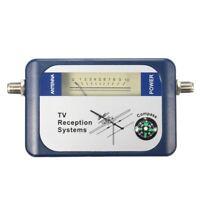 Buscador De Antena De Tv Medidor De Intensidad De Señal Terrestre Aérea Dig H6T6