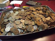 bag of wheat cents, 5000 Lincoln cents, all prior to 1958, not just 40's & 50's