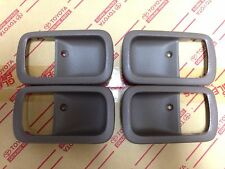 Genuine OEM Toyota Land Cruiser 95-97 OAK Inner door handle bezels full set
