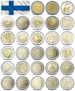 2 Euros Conmemorativos FINLANDIA Sin circular - TODOS LOS AÑOS -