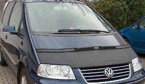 Steinschlagschutz Motorhaubenschutz schwarz Bra Haubenbra VW Sharan von 95-99